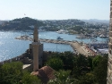 Another view on Bodrum town from the famous St. Peters castle
