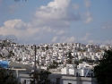 White houses on a hill in Bodrum, Turkey
