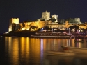 Nightview of the castle of Bodrum