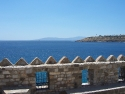 View from the top walls of the Bodrum castle