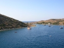 Bay view of Gumusluk, Bodrum