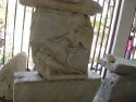 A part of the Mausoleum of Halicarnassus in Bodrum