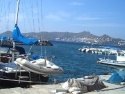 Another view on the harbour of Yalikavak, Bodrum, Turkey